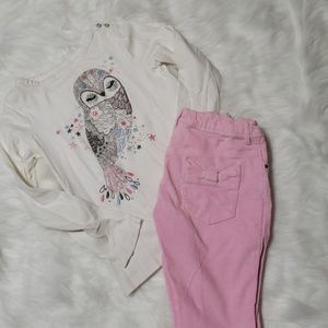 Girls Shirt and Pants Set